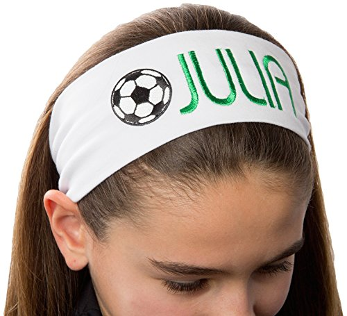 Personalized Soccer Ball Patch Headband review