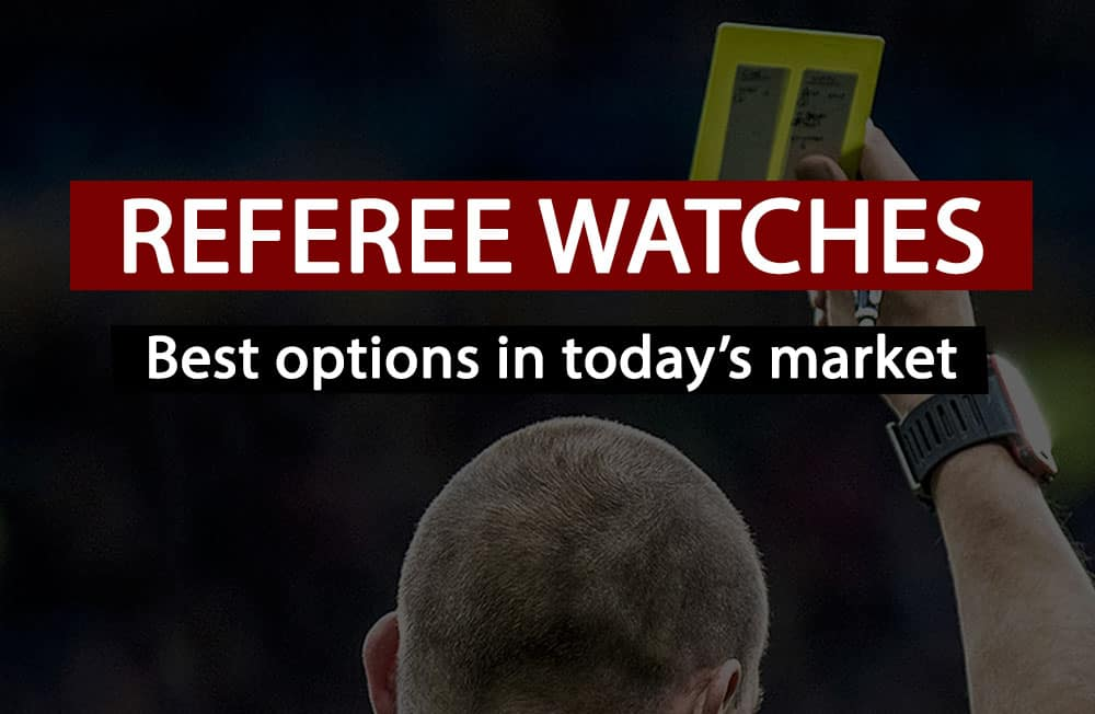 best referee watches