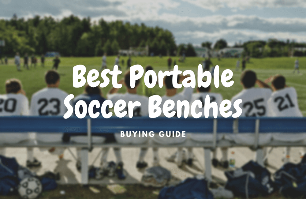 best portable soccer benches